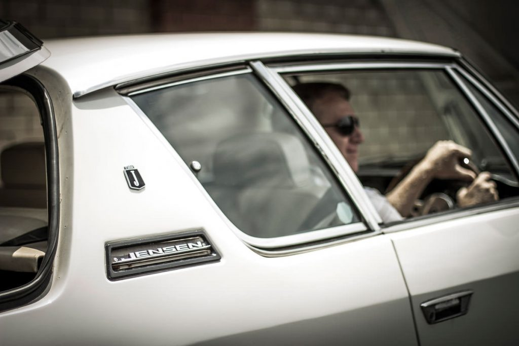 Philip Lochner's Jensen Interceptor