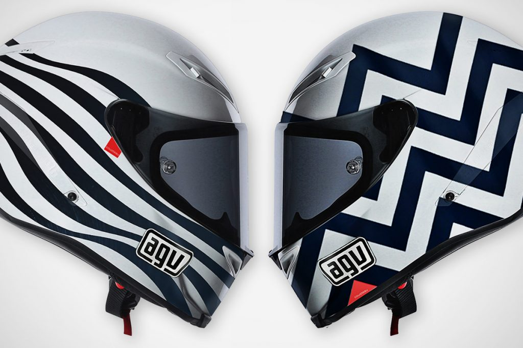 The classy helmet designs of Hello Cousteau.