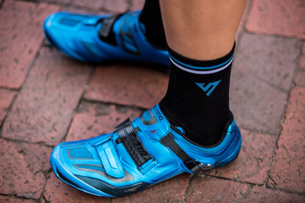 Sock Doping: Looking Flash with Versus Cycling Socks