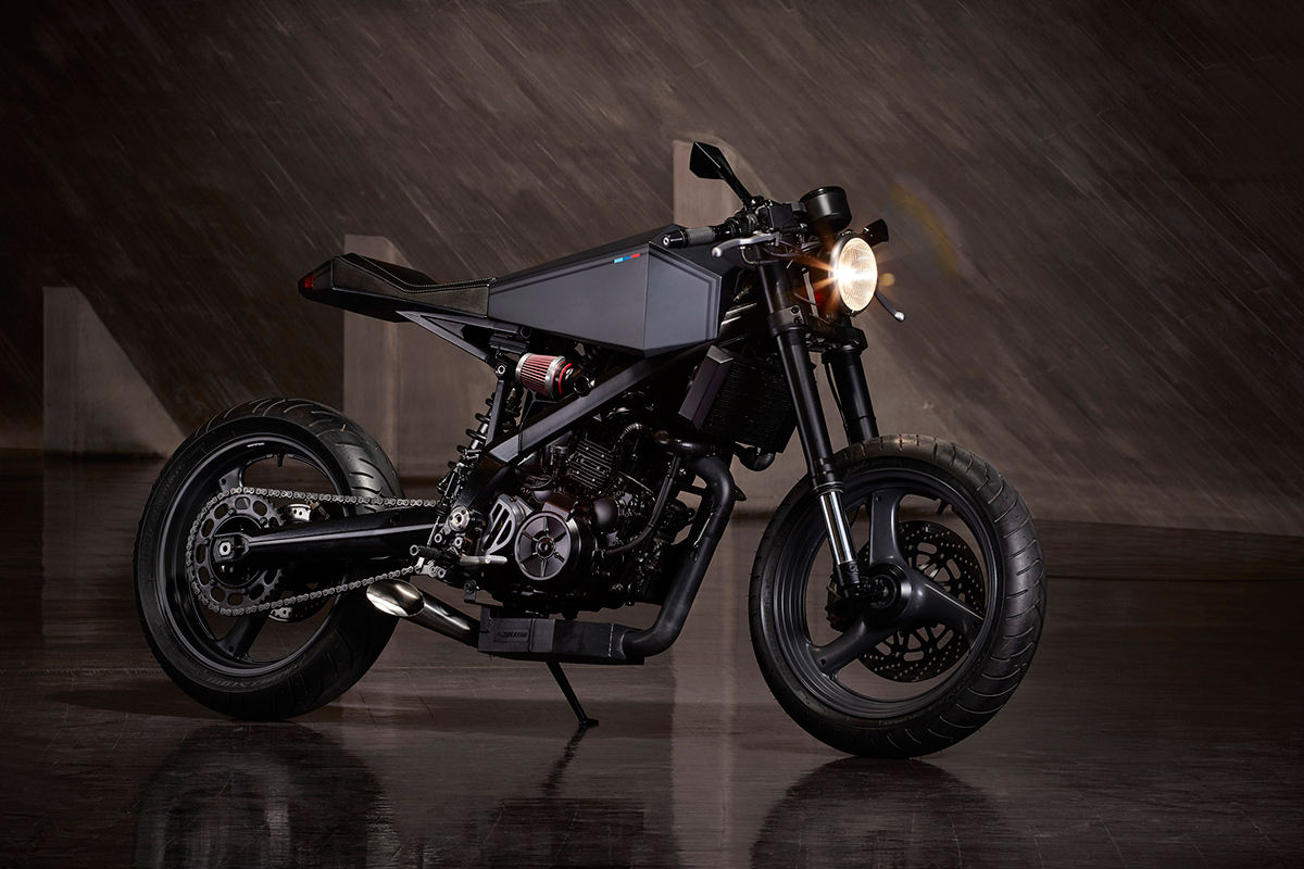 This Re-engineered BMW G 650 Xchallenge is a Neo-Noir Dream