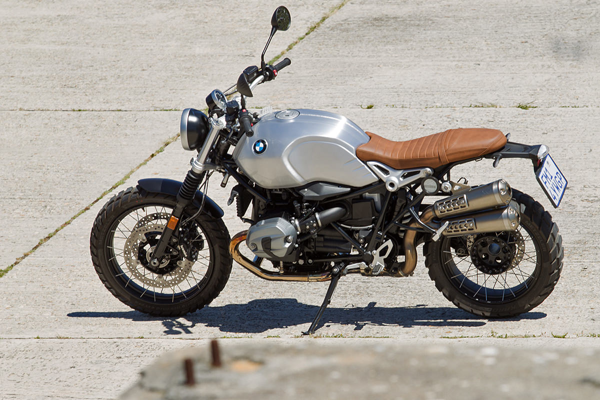 Report: Riding the BMW R nineT Scrambler