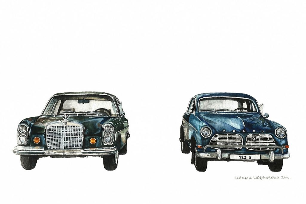 The Automotive Art of Claudia Liebenberg