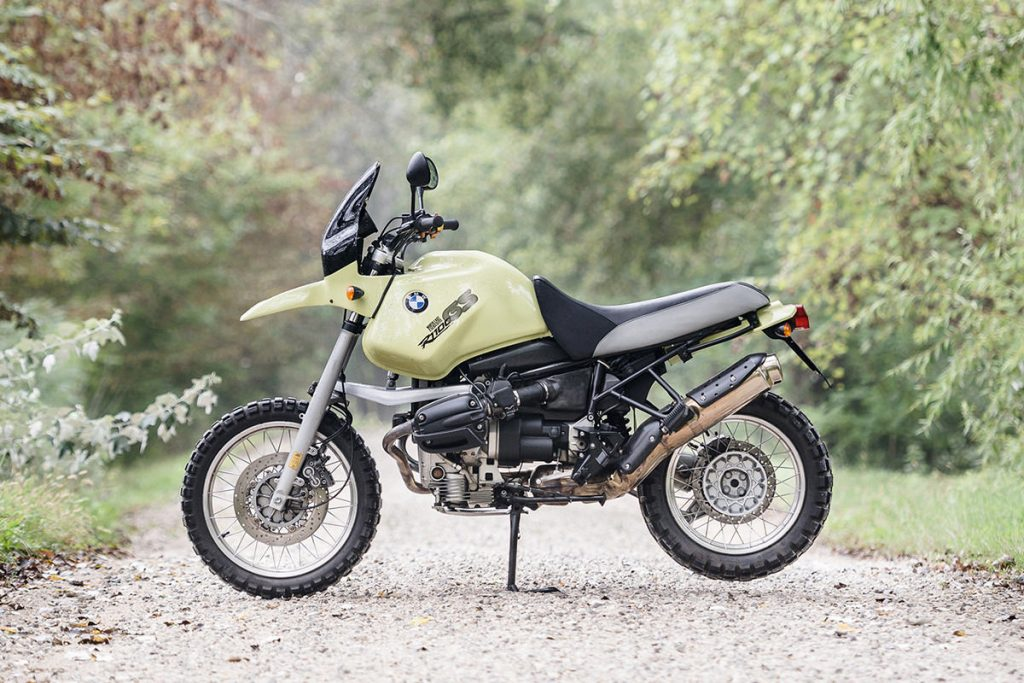 BMW R1100GS resto-mod, by North East Custom