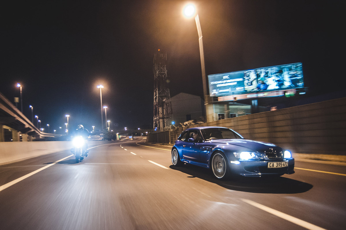 Two by Four: Shooting a BMW Chase at Night