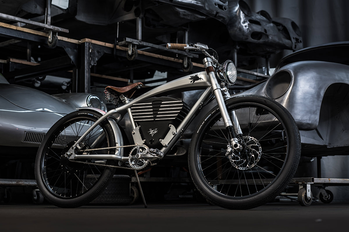 An Electric Bike Inspired by Rod Emory's Porsche 356 Outlaws